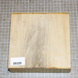Satin, Zitronenholz, ca. 160 x 160 x 52 mm, 1,2 kg