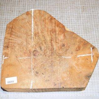 Thuja Burl, approx. 310 x 310 x 83 mm, 5,5 kg