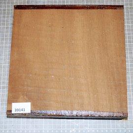 Iroko, Kambala, approx. 250 x 250 x 45 mm, 2,3 kg