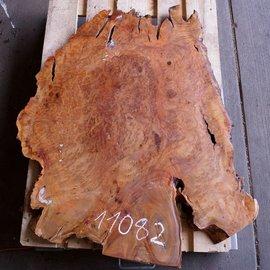 Kampfer Tischplatte, ca. 1050 x 800 x 40/55 mm, 29 kg, 11082