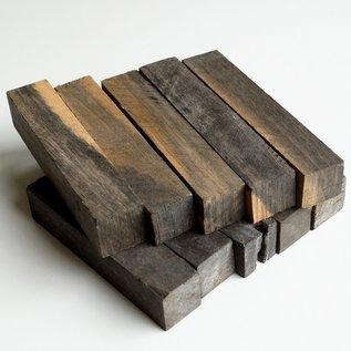 Ebenholz marmoriert, ca. 20 x 20 x 100 mm, 500 Stk