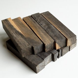 Ebenholz marmoriert, ca. 20 x 20 x 100 mm, 1000 Stk