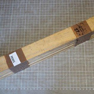 Satin B-Ware Set, ca. 420 x 40 x 6 mm, 1,1 kg