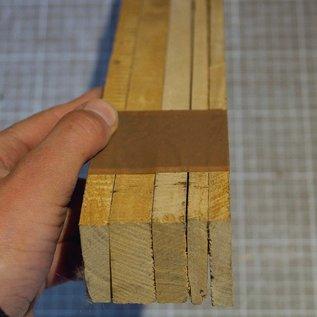 Satin B-Ware Set, ca. 410 x 40 x 7 - 18 mm, 0,9 kg