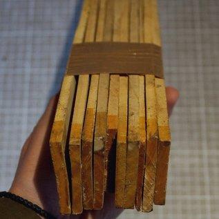 Satin B-Ware Set, ca. 420 x 45 x 6 mm, 1,2 kg