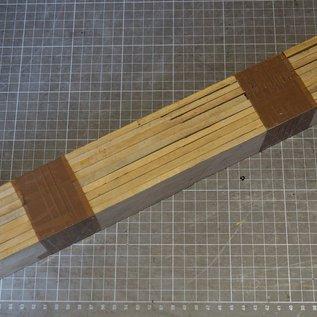 Satin B-Ware Set, ca. 420 x 50 x 6 mm, 1,1 kg