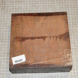 Cocobolo Rosewood approx. 180 x 180 x 60 mm, 1,9 kg
