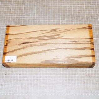 Zebrano, ca. 300 x 140 x 52 mm, 1,6 kg