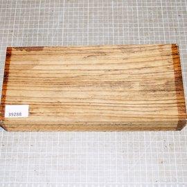 Zebrano, ca. 300 x 140 x 54 mm, 1,7 kg