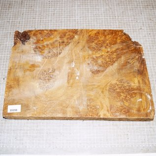Golden Madrone Maser, ca. 435 x 295 x 45 mm, 4,9 kg