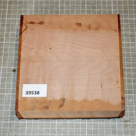 Pearwood steamed, approx. 170 x 170 x 50 mm, 1,0 kg