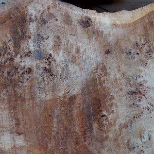 Pappel Maserplatte, ca. 1000 x 680/350 x 65 mm, 12383