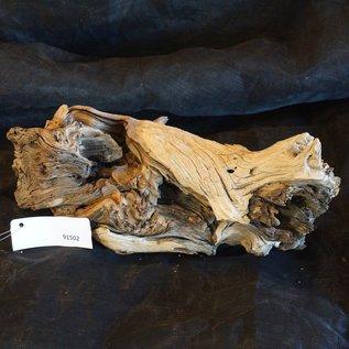 Mopane Wurzel - Skulptur, ca. 40 x 22 x 15 cm, 91502