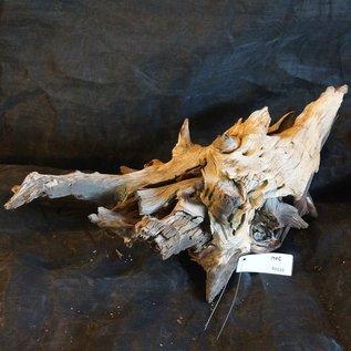 Mopane Wurzel - Skulptur, ca. 75 x 35 x 40 cm, 91510