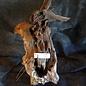 Mopane Wurzel - Skulptur, ca. 80 x 40 x 40 cm, 91582