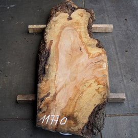 Pearwood, figured, table top, approx. 1650 x 650 x 65 mm, 11770