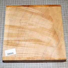 Spitzahorn geriegelt, ca. 220 x 220 x 52 mm, 1,5 kg