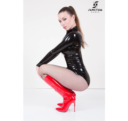 Giaro Fetish knee boots without platform