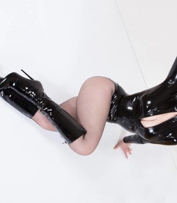 Giaro Best Fetish knee boots without platform