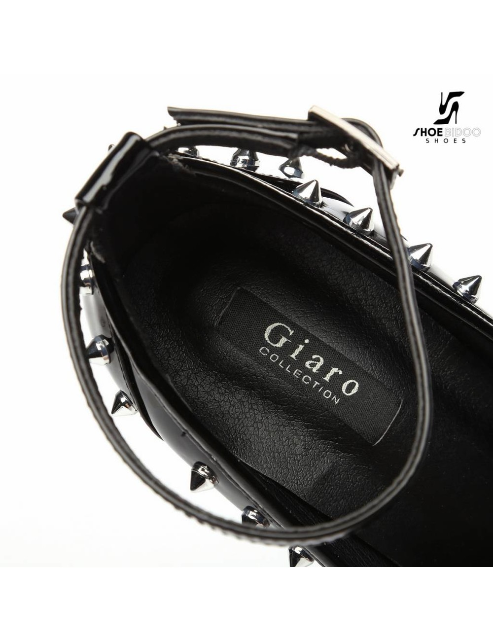 """Giaro Black shiny Giaro """"Galana"""" platforms with spikes"""