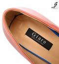 "Giaro Pink white and blue open toe Giaro ""Galana"" platform pumps"