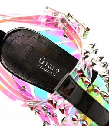 "Giaro Multi transparente ""Galana"" Designer Stiefeletten"