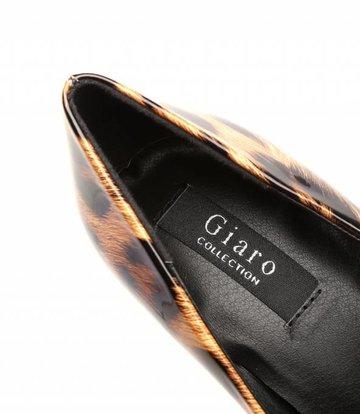 "Giaro Leopard Giaro ""Galana"" shiny platforms pumps"