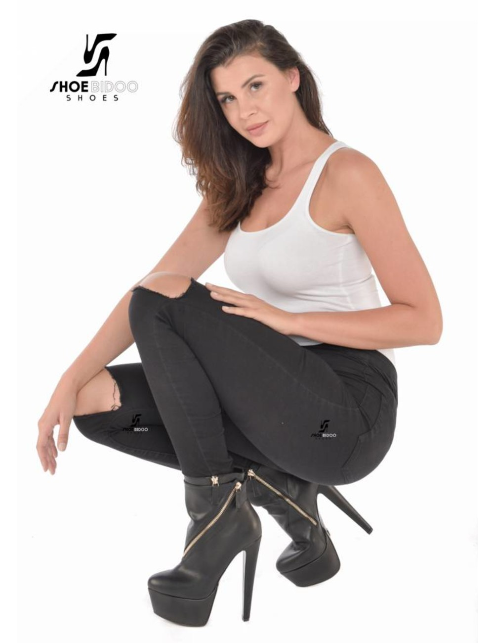 Giaro Olga in Destroyer ankle boots