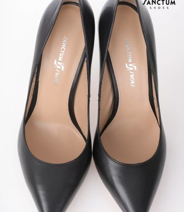 Sanctum Italian leather pumps with thin heels-OUTLET