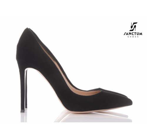 Sanctum A2081 - PUMPS SUEDE BLACK-OUTLET