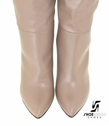 Sanctum Shoes Long pull on knee boots with high heels -OUTLET