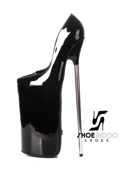 Giaro FLY AWAY | BLACK SHINY | PLATFORM PUMPS 30CM