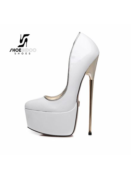 Giaro HERO 1001 | WHITE SHINY | PLATFORM PUMP