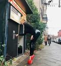 Giaro Rebecca More in Berlin in our HERO fetish heels