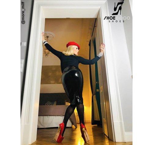 Giaro Rebecca More in unseren roten Fetischabsätzen - Copy