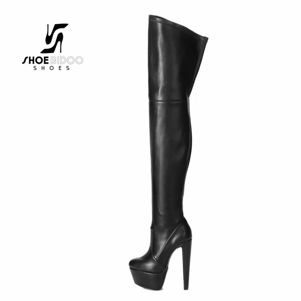 "Giaro Black matte Giaro ""Destroyer"" thigh boots"