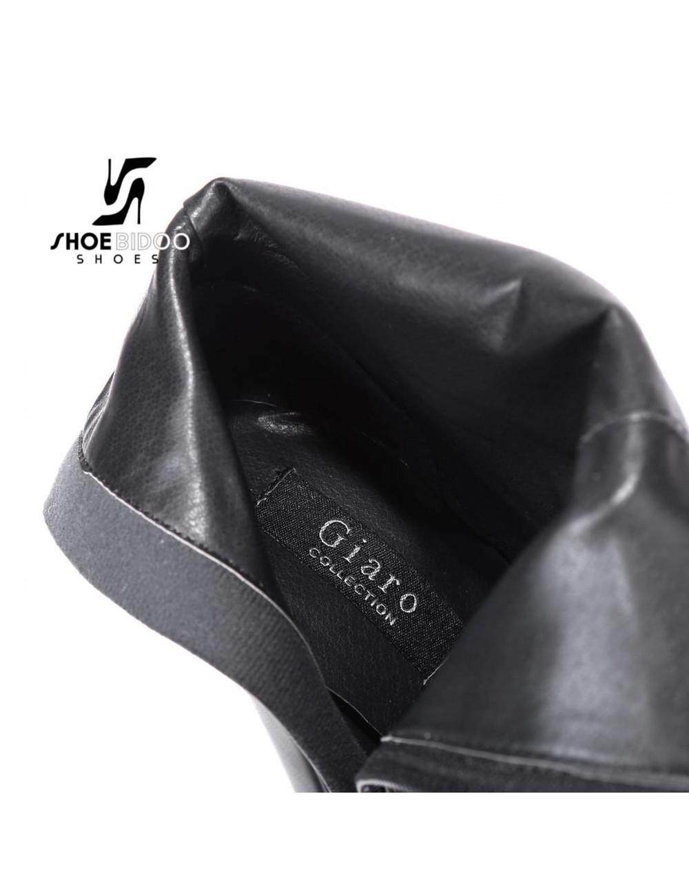 """Giaro Black matte Giaro """"Destroyer"""" knee boots"""
