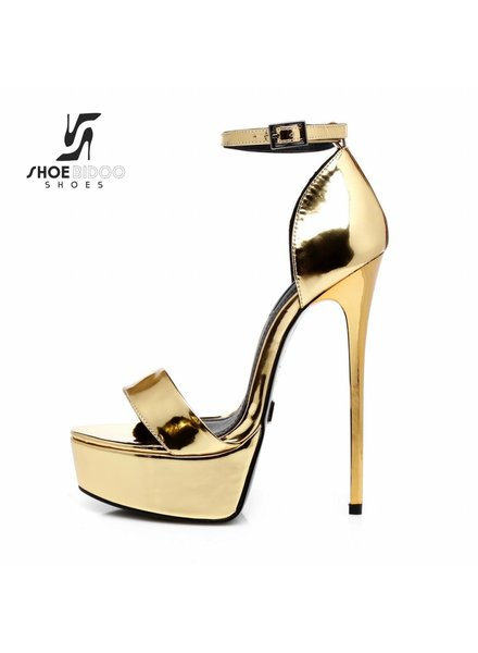 Giaro GALANA 1002 | LIQUID GOLD | PLATFORM SANDALS