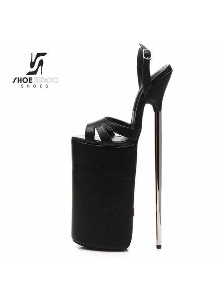 Giaro FLY OPEN | BLACK MATTE | PLATFORM SANDALS 30CM