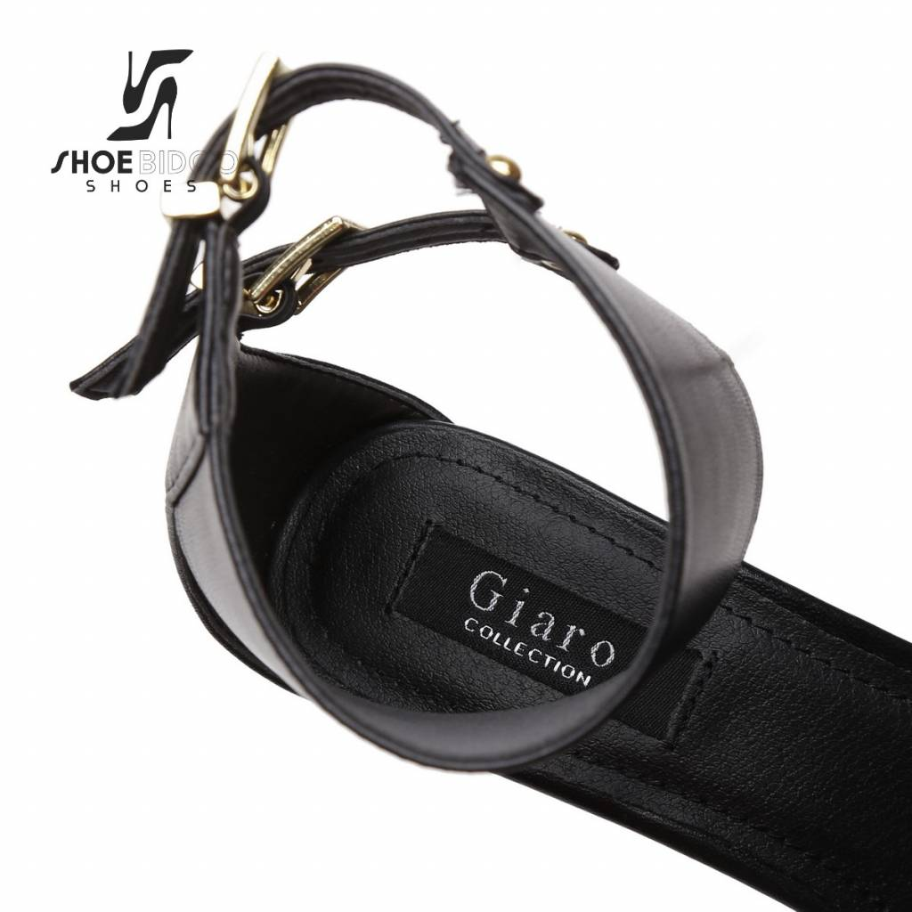 Giaro Black Giaro KATE bondage ankle belt sandals