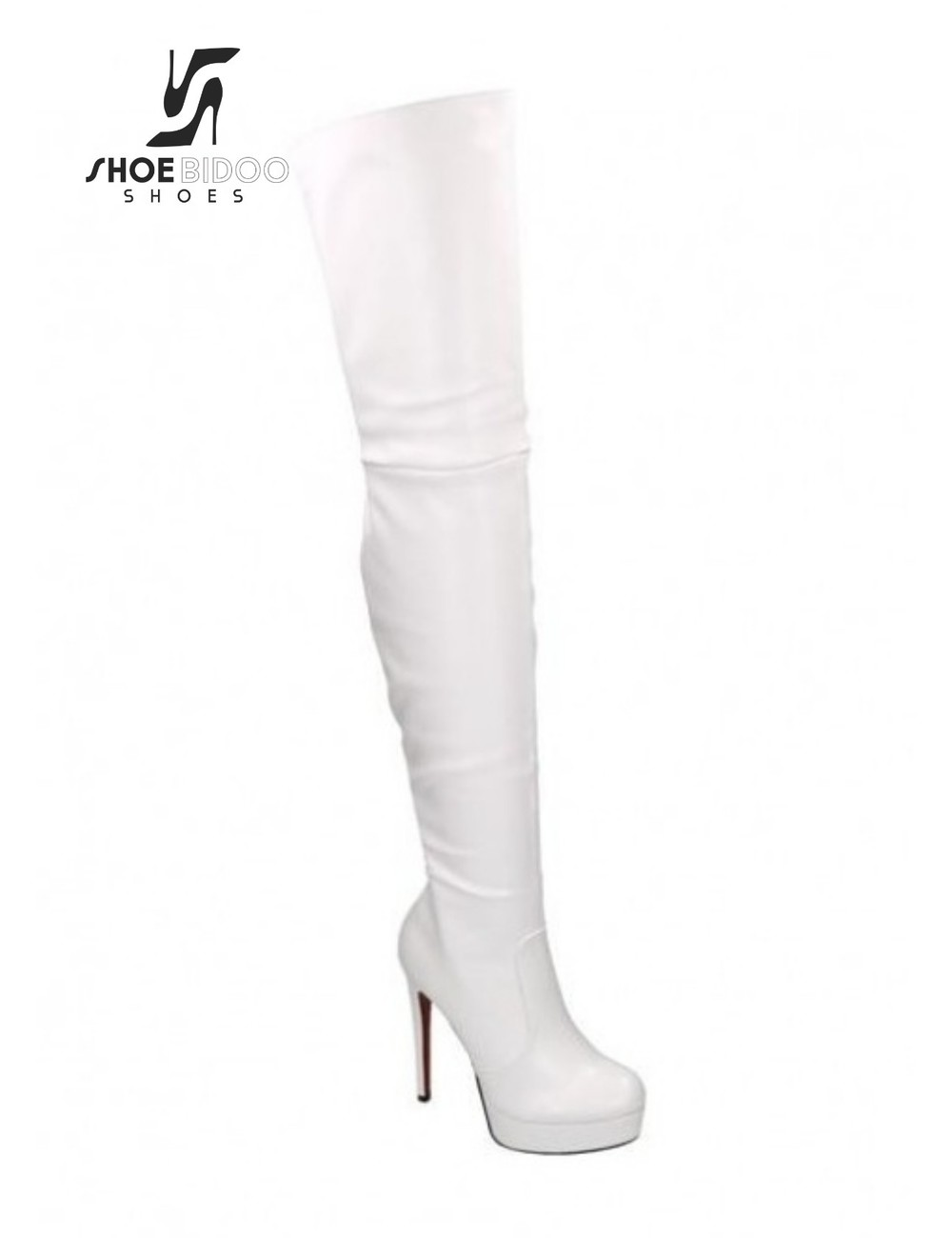White High Heel Boots
