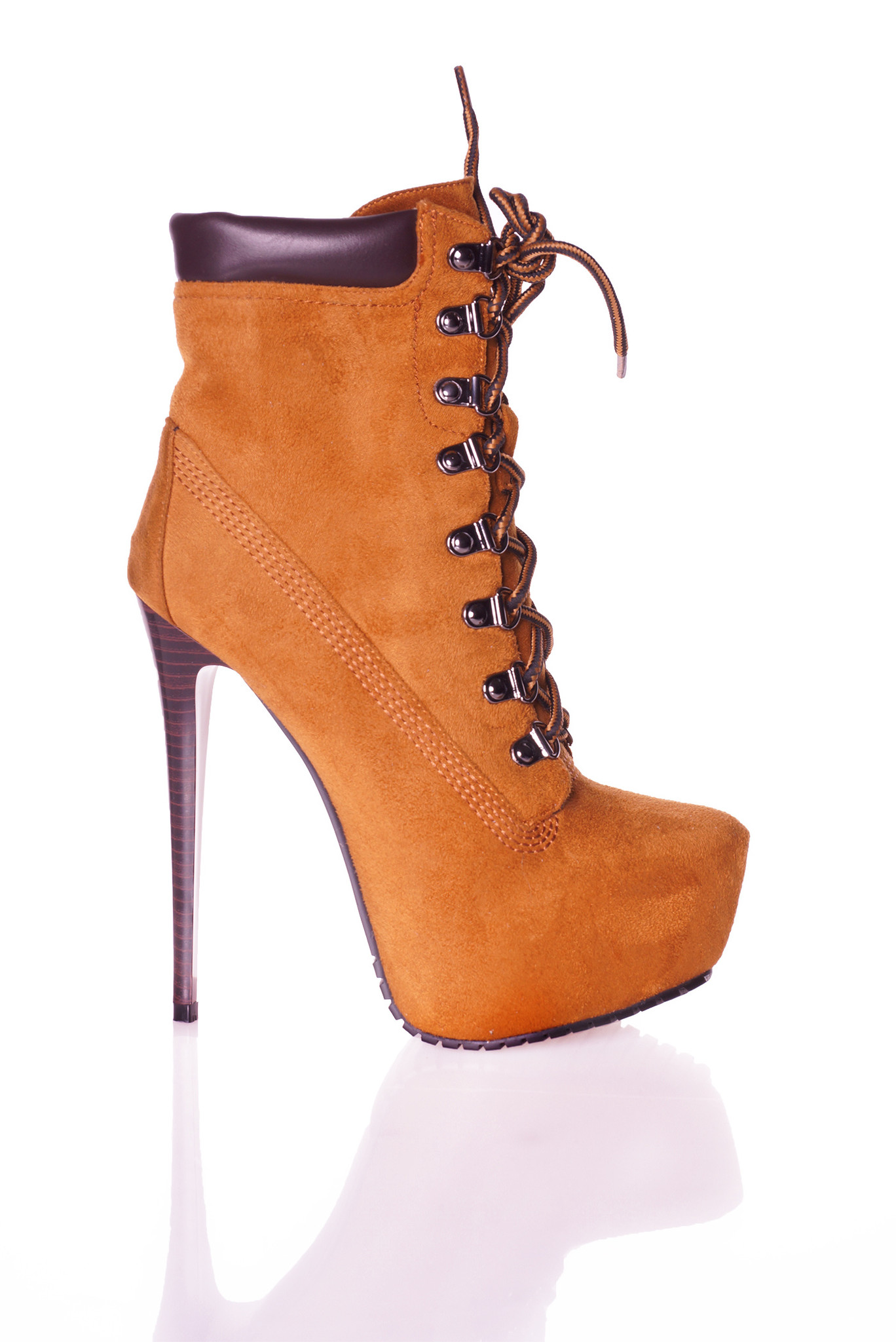 CoCo Timberland high heels lace-up with platform