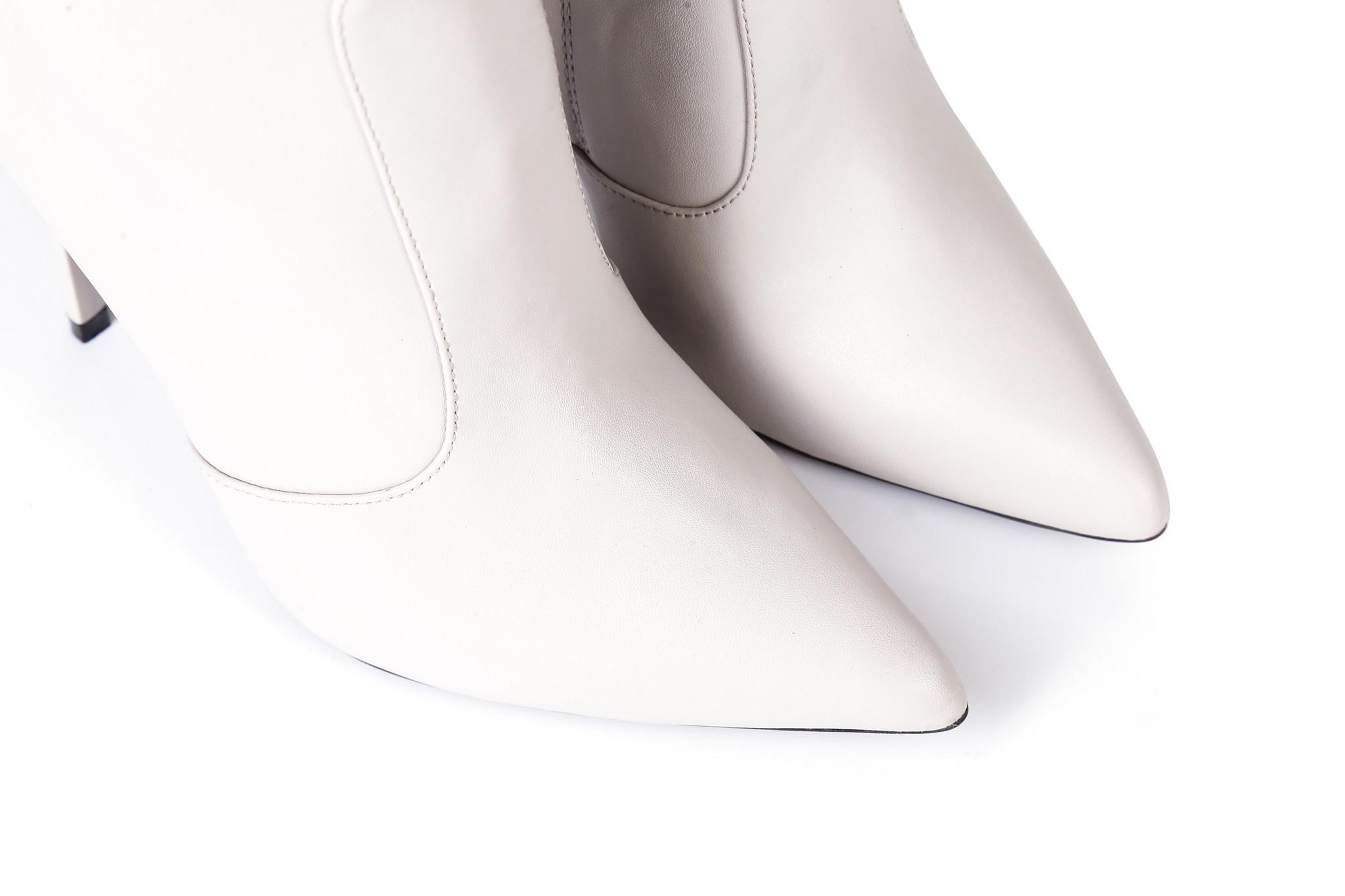 Giaro ZIRA   LIGHT GREY   KNEE BOOTS   Italian Style