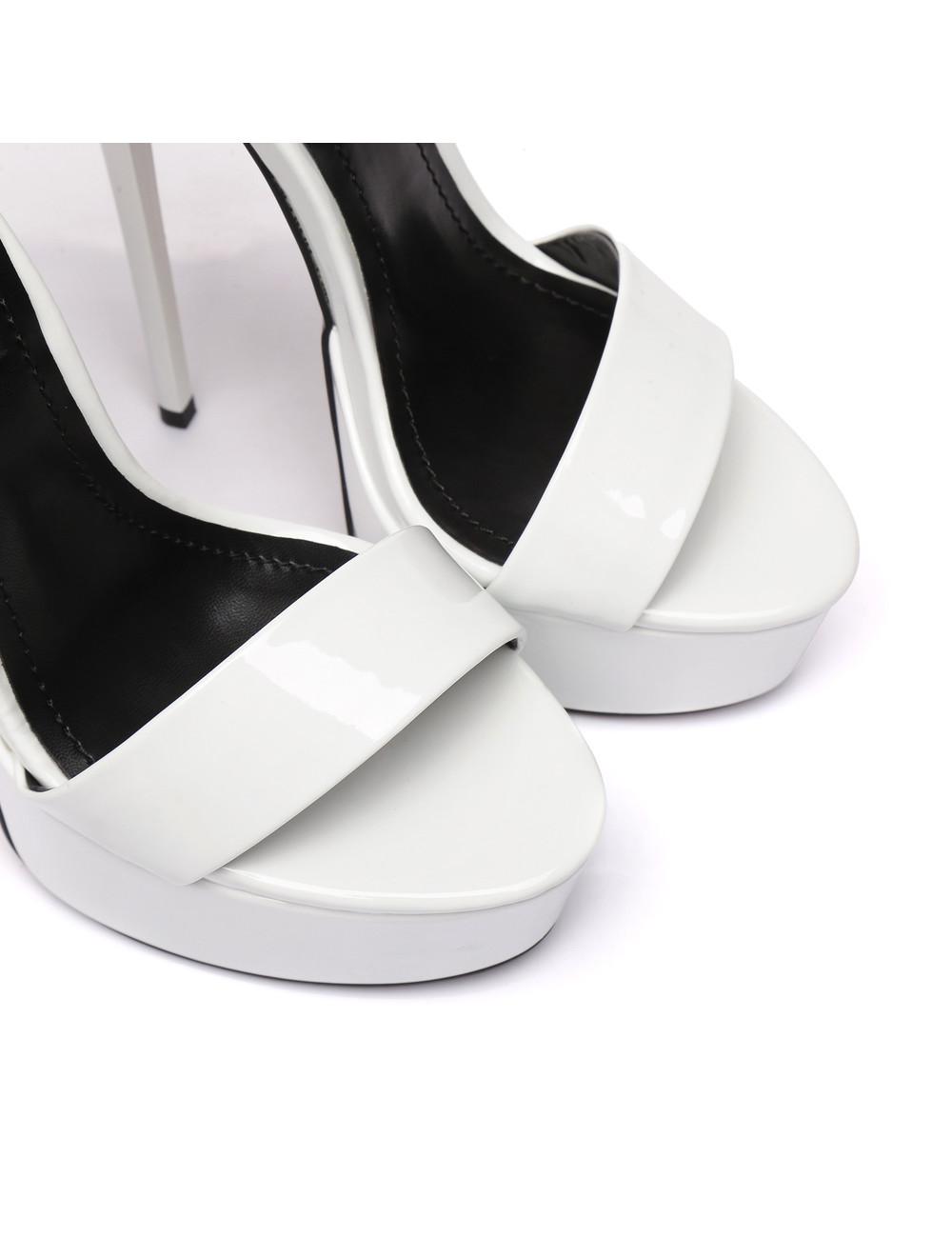 """Giaro Witte glimmende Giaro """"Galana"""" sandalen"""