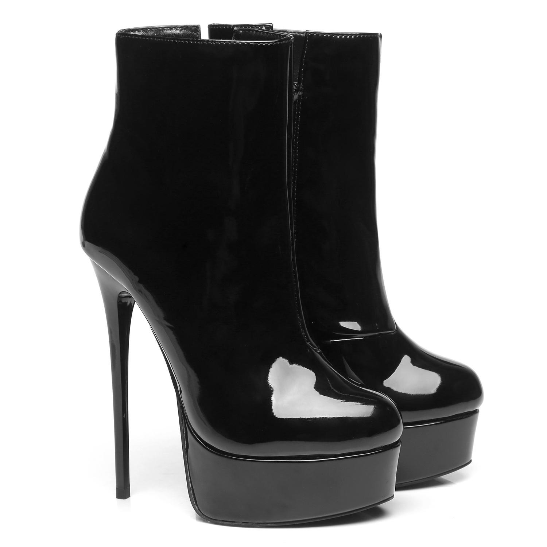 """Giaro Black Shiny Giaro """"Galana"""" ankle boots  - new 2020"""