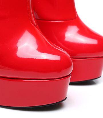 """Giaro Red Shiny Giaro """"Galana"""" ankle boots  - new 2020"""