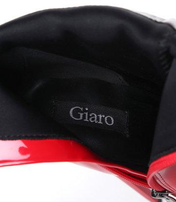 """Giaro Glanzende rode Giaro """"Galana"""" enkellaarzen"""
