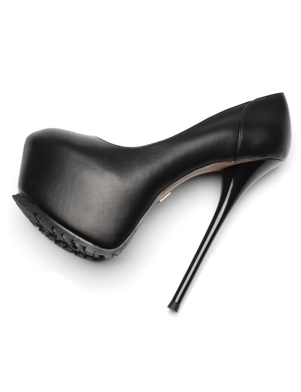 "Giaro Black  Giaro ""Profile"" platform pumps"