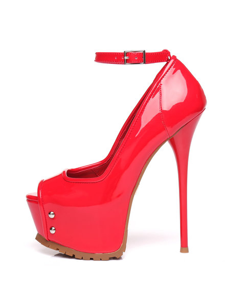 Giaro MADISON | RED SHINY | PROFILE PUMPS