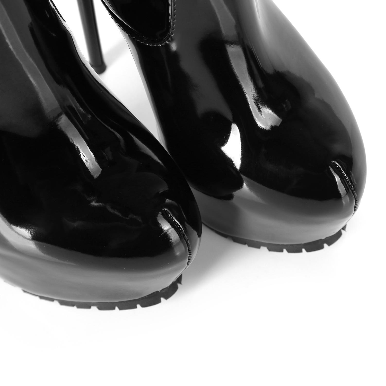 Giaro Giaro Cameron zwarte knielaarzen - metalen rits